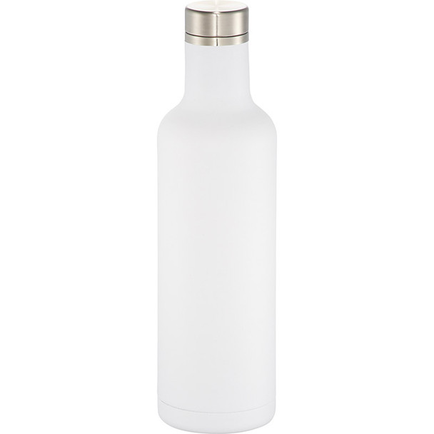 White - Pinto Copper Vacuum Insulated Bottle 25oz | Hardgoods.ca
