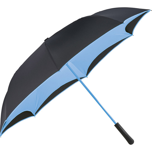 Light Blue - 48'' Colorized Manual Inversion Umbrella | Hardgoods.ca