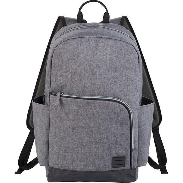 Grey - Grayson 15'' Computer Backpack | HardGoods.ca