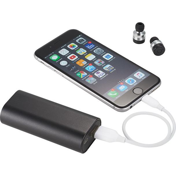 Metal True Wireless Earbuds and Powerbank | Hardgoods.ca