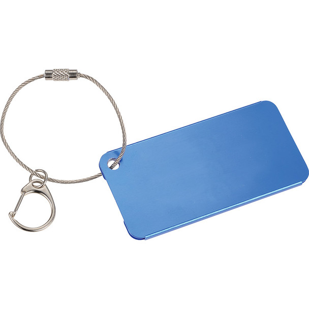 Blue - Aluminum Identification Tag | Hardgoods.ca