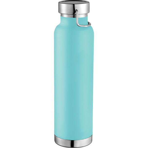 Mint Green - Thor Copper Vacuum Insulated Bottle 22oz | Hardgoods.ca