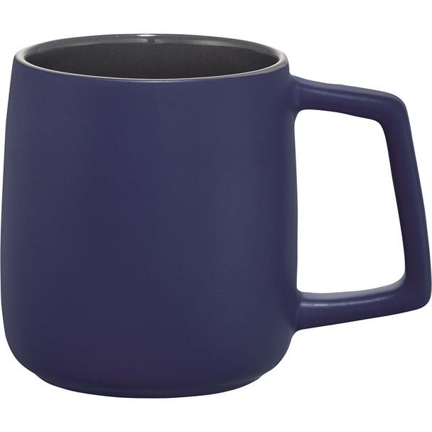Blue - Sienna Ceramic Mug 14oz | Hardgoods.ca