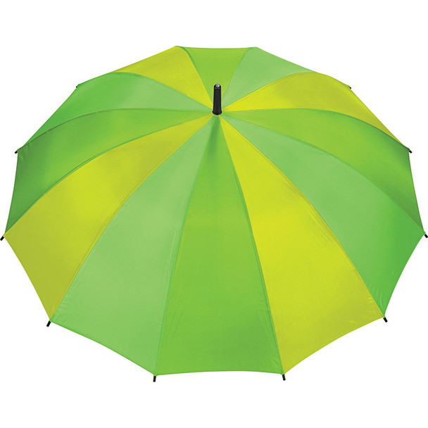 Lime - 47'' 12 Panel Auto Open Fashion Umbrella | Hardgoods.ca