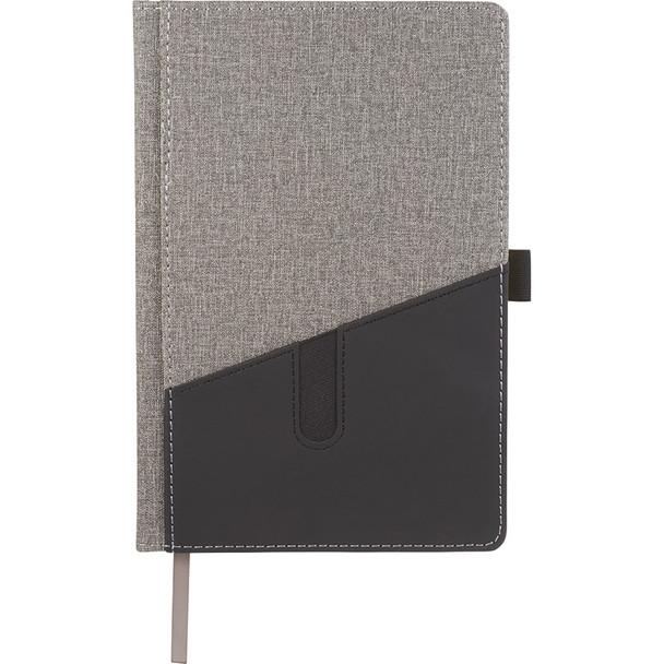 Gray - Siena Heathered Bound JournalBook | Hardgoods.ca