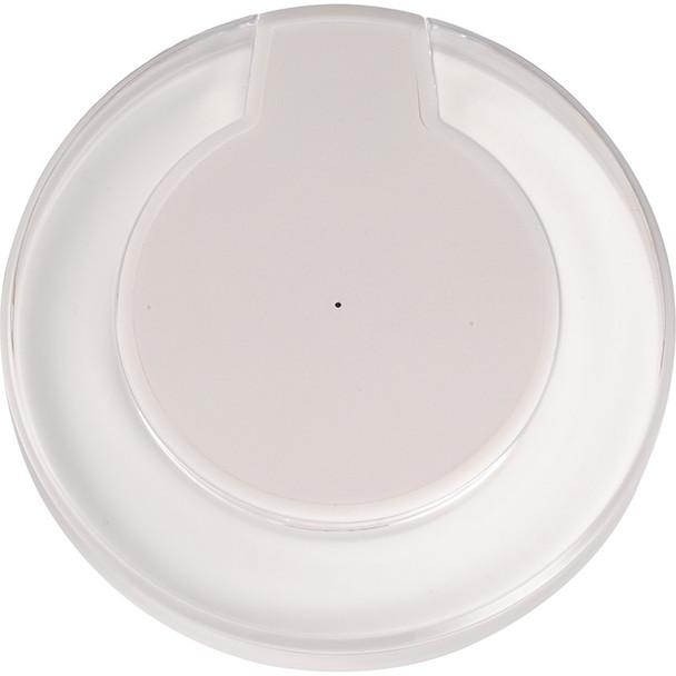 White - Meteor Qi Wireless Charging Pad   Hardgoods.ca