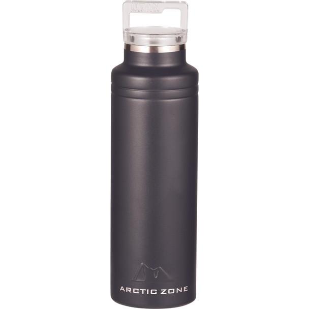 Black - Arctic Zone Titan Thermal HP Copper Bottle 20oz   Hardgoods.ca