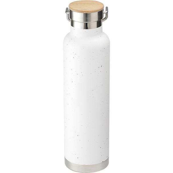 White - Speckled Thor Copper Vacuum Insulated Bottle 22oz | Hardgoods.ca
