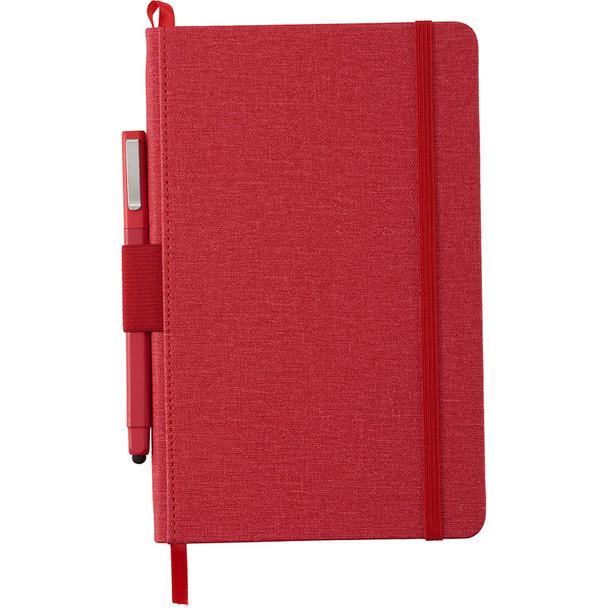 Red - Heathered Hard Bound JournalBook | Hardgoods.ca