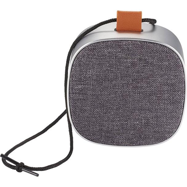 Tahoe Metal & Fabric Waterproof Bluetooth Speaker | Hardgoods.ca