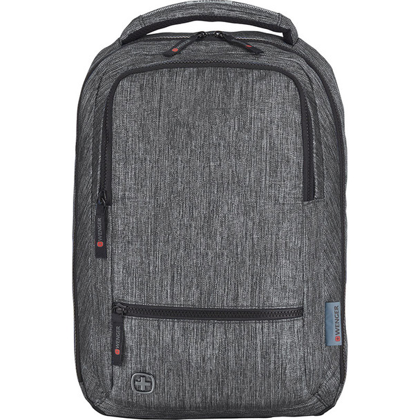 Charcoal - Wenger Meter 15 Laptop Backpack | Hardgoods.ca