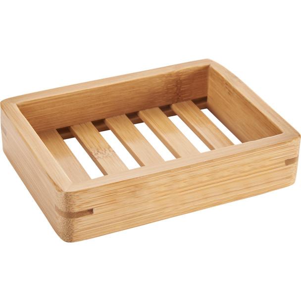 1410-72 Bamboo Drying Soap Dish   Hardgoods.ca