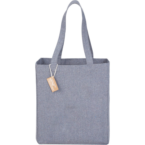 Grey - Recycled Cotton Grocery Tote Bag | Hardgoods.ca