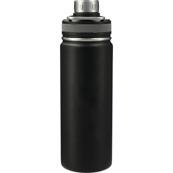 Black - Vasco Copper Vacuum Insulated Bottle 20oz | Hardgoods.ca
