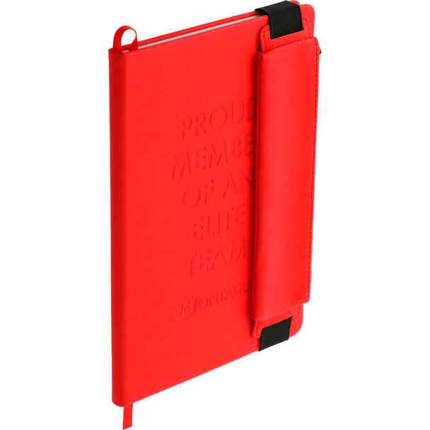 FUNCTION Hard Bound Notebook With Pen Pouch | Hardgoods.ca