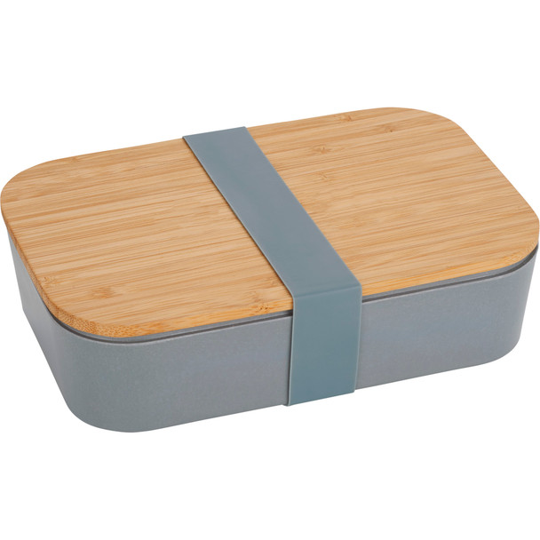 Bamboo Fiber Lunch Box with Cutting Board Lid    Hardgoods.ca