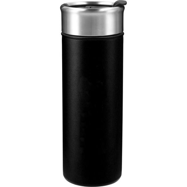 Black - Salem Copper Vacuum Insulated Tumbler 18oz | Hardgoods.ca