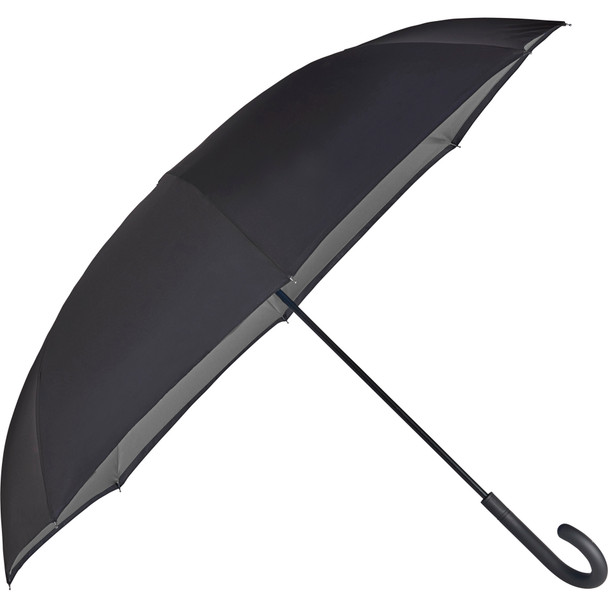 "Gray - 47"" totes¨ Auto Close Inbrella Inversion Umbrella 