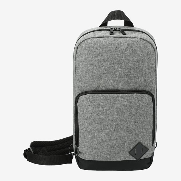 Graphite Deluxe Recycled Sling Backpack | HardGoods.ca