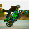 Scotty Smash, top stunt riding wearing GoGo Gear Kevlar Base Layer and GoGo Gear Armored Kevlar Hoodie