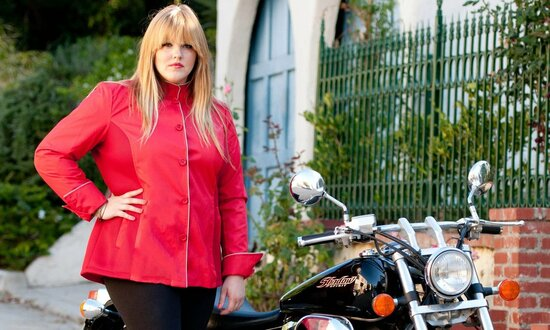 GOGO GEAR CAFE VENTILATED JACKET (NEW!) - RED