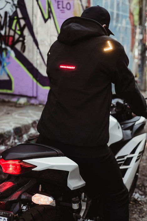"The Unisex Armored Kevlar Hoodie ""Signal Jacket"""
