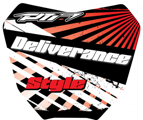 Deliverance Number Plate Graffix Kit
