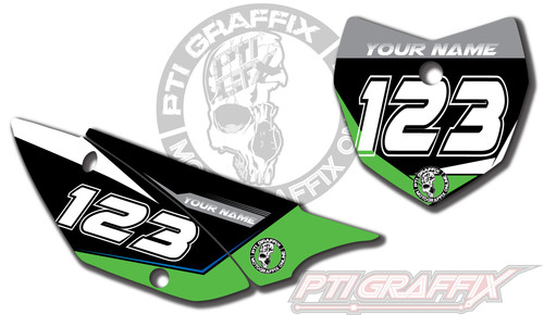 Factor Number Plate Kit