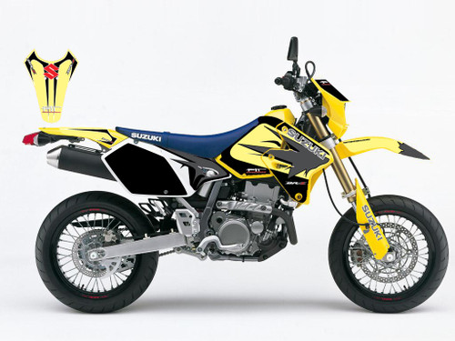 DRZ SM Trip Graffix Yellow