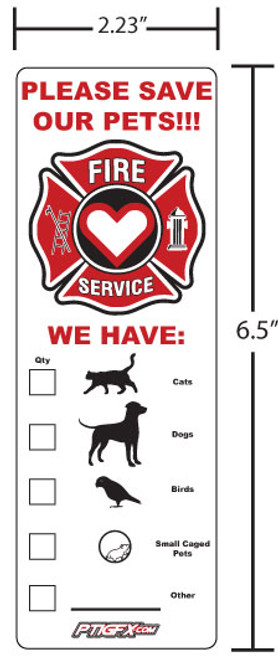 Save Our Pets Sticker