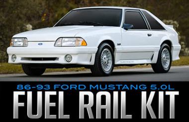 BBK Performance Fuel Rail Kit for 1986–1993 Ford 5.0L Mustang