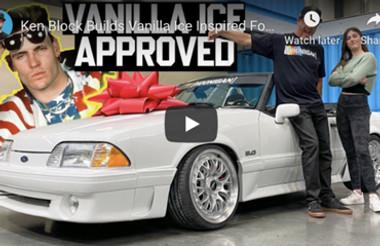 Ken Block Builds Vanilla Ice Inspired Fox Body 5.0 For Daughter's 14th Birthday