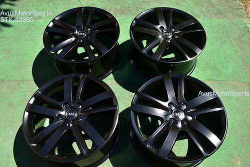 """20"""" Audi Q7 Factory OEM Wheels 2013 part# 4L0601025AJ Satin Black VW Touareg"""