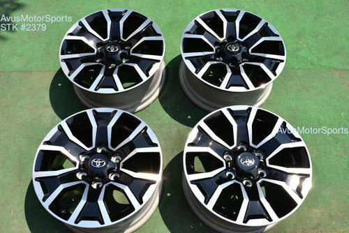 "17"" TOYOTA TACOMA OEM FACTORY TRD SPORT WHEELS 4runner Tundra 2020 2021"
