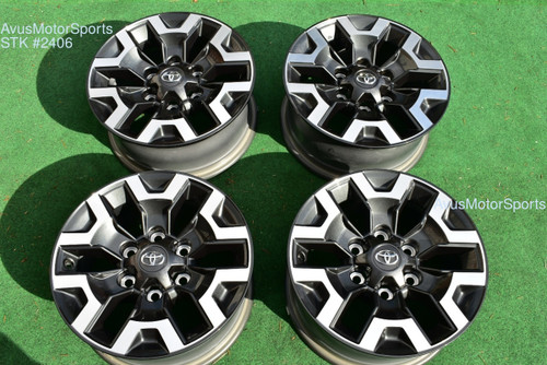 "16"" TOYOTA TACOMA OEM FACTORY TRD OFFROAD WHEELS 4runner Tundra 2020"