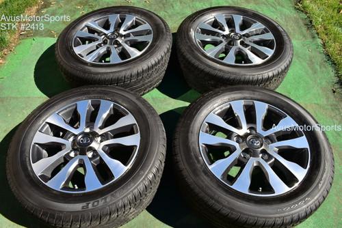 "20"" Toyota Tundra Limited OEM Wheels Tires Sequoia Land Cruiser Lx570 2020 TPMS"