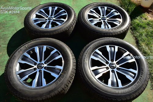 "20"" Nissan Armada Titan OEM Factory Wheels Tires TPMS 2019 2020"