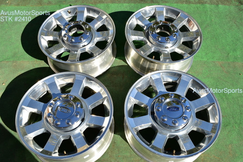 "20"" Ford F250 Super Duty OEM Factory Wheels F350 FX4 Lariat 2008 2009 2010"