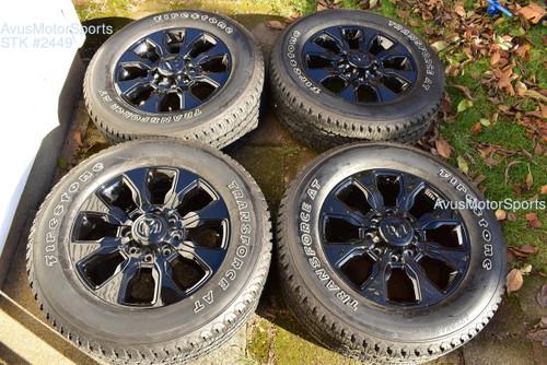 "20"" Dodge Ram Limited Black Edition OEM Factory Wheels Tires 2500 3500 2019 2020"