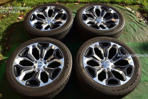 "22"" Dodge Ram 1500 OEM 2019 Limited Factory Optional Wheels tires Genuine"