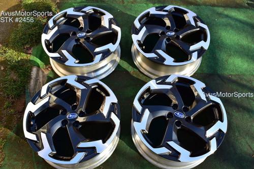 "2021 Subaru XV Crosstrek OEM 18"" Factory Wheels 5x100 Impreza Forester Outback"