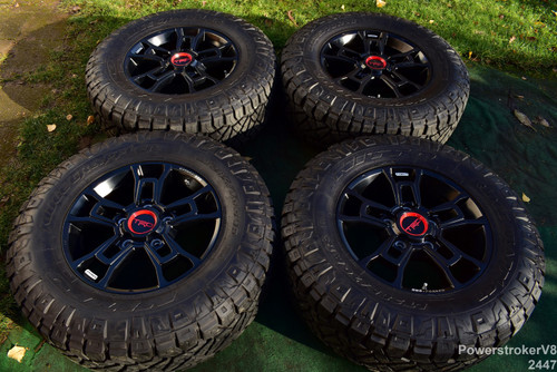 "18"" Toyota Tundra TRD Pro OEM Factory BBS Forged Wheels Nitto Tires Sequoia"
