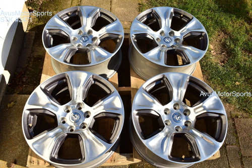 "20"" Dodge Ram Laramie OEM Factory Polished Wheels 1500 Genuine 2019"