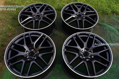 """22"""" Mercedes BENZ GLE63 AMG Factory OEM Staggered Wheels GLE43 GLE550"""