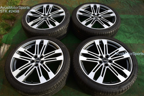 "21"" Audi SQ5 Q5 OEM Wheels Pirelli 255/40R21 tires 2019 2018 S-Line"