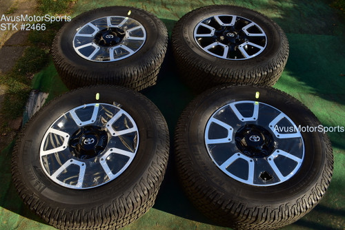 """18"""" Toyota Tundra Off Road OEM Factory Wheels Tires TRD offroad Sequoia + TPMS oem2466"""
