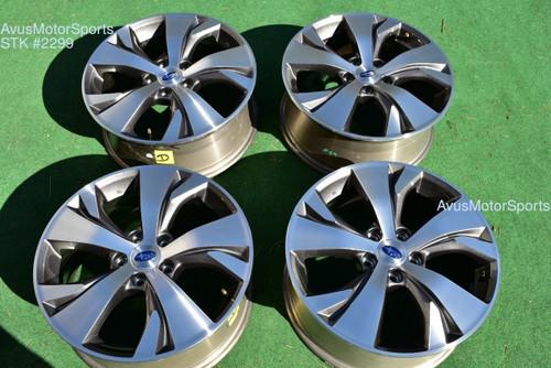 "18"" Subaru Ascent Premium OEM Factory Wheels 2020 Genuine Outback 2019 28111XC01"