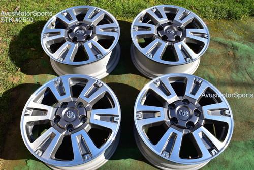 "20"" Toyota Tundra Platinum 1794 OEM Wheels Sequoia Land Cruiser Lx570 2020 2021"