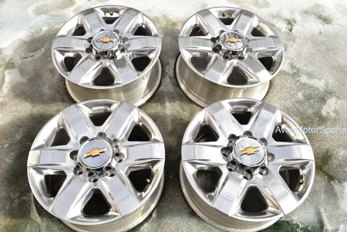 "20"" Chevy Silverado 2500 3500 OEM High Country FACTORY WHEELS GMC Sierra 2021 oem2508"