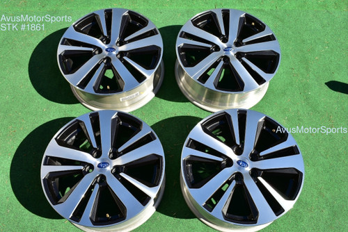 "2019 Subaru Outback Limited OEM 18"" Factory Wheels Legacy 5x114 2018 2016 2017"